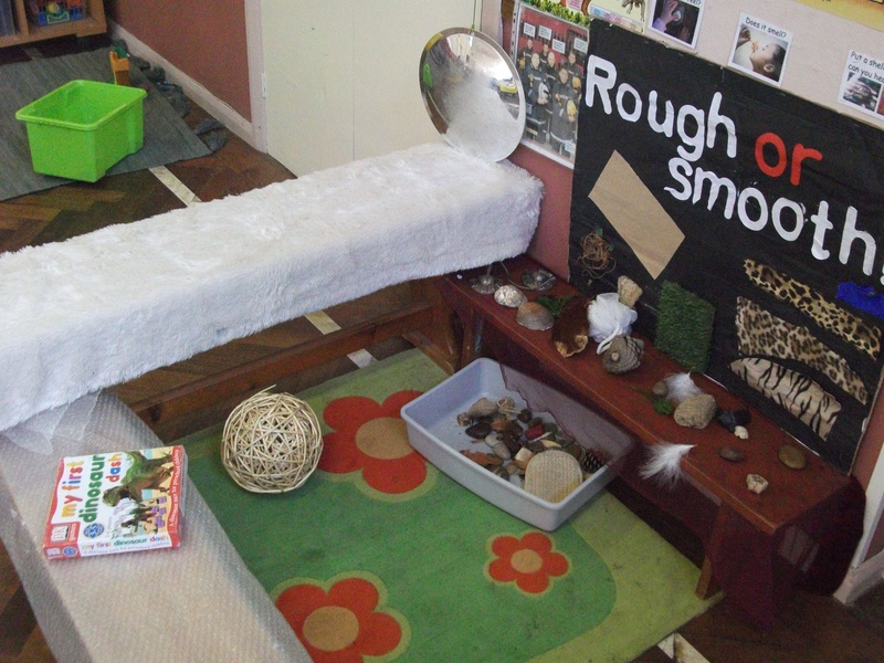 Our touch and feel area